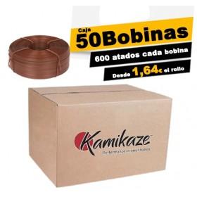 CAJA DE 50 BOBINAS DE 90 M  ORIGINALES KAMIKAZE