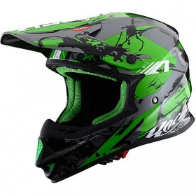 CASCO ASTONE MX600-GIANT GREEN IMAGEN FRONTAL