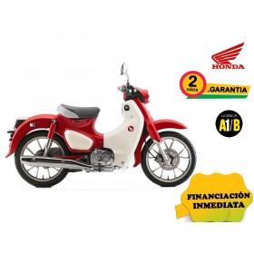 SUPER CUB C125 COLOR ROJO PROMOCIÓN OFF ROAD PARTS