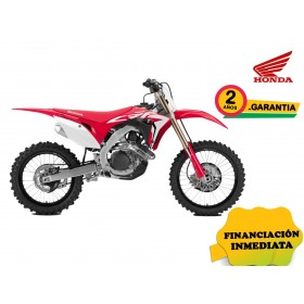 CRF450R VISTA LATERAL COLOR ROJO PROMOCIÓN OFF ROAD PARTS