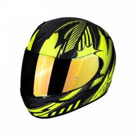 CASCO EXO-390 POP MATT Black/Neon/Yellow