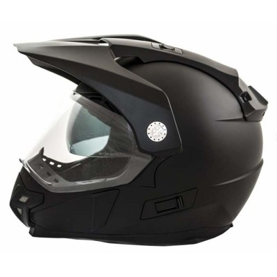 CASCO LEM TRAIL NEGRO MATE MP