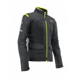 CHAQUETA RAMSEY MY VENTED 2.0 LONG NEGRO/AMARILLO