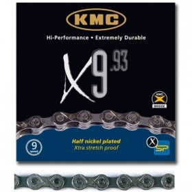 CADENA KMC X-9.93 Cromada...