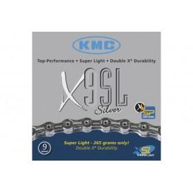 CADENA KMC X-9SL 116 Pasos...