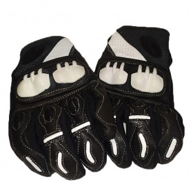 GUANTES MONSTER NEGRO BLANCO
