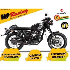 MOTO MASH CAFE RACER BLACK 125 MP
