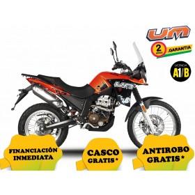 UM DSR 125 ADVENTURE TT - Rojo