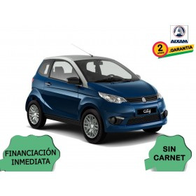 COCHE SIN CARNET AIXAM CITY PACK AZUL ORP