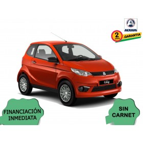 COCHE SIN CARNET AIXAM CITY PACK ROJO ORP