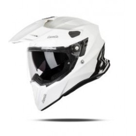 CASCO AIROH TRAIL COMMANDER BLANCO