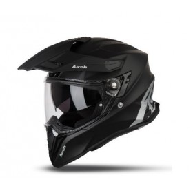 CASCO AIROH TRAIL COMMANDER NEGRO MATE