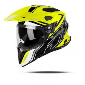 CASCO AIROH TRAIL COMMANDER AMARILLO