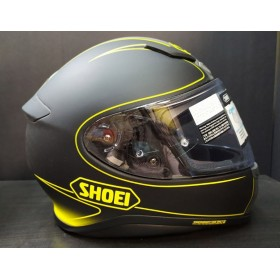CASCO SHOEI NXR FLAGGER TC-3. TALLA L. ULTIMA UNIDAD. LATERAL ORP