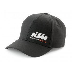 GORRA KTM RACING NEGRA