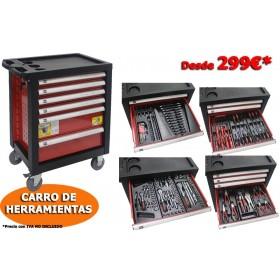 CARRO DE  HERRAMIENTAS 130 PIEZAS ORP