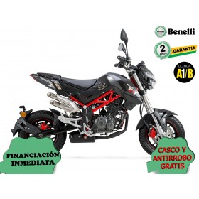 BENELLI TORNADO NAKED T 125 NEGRO ORP