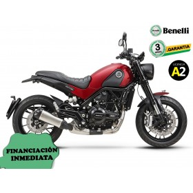 BENELLI LEONCINO 500 ABS ROJA ORP