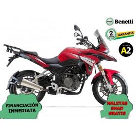 MOTO BENELLI TRK 251 ROJA ORP