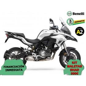 BENELLI TRK502 BLANCA OPCION MALETAS ORP