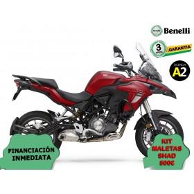 BENELLI TRK502 ROJA OPCION MALETAS ORP