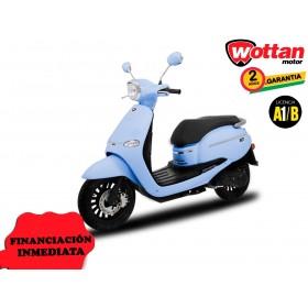 MOTO WOTTAN MOTOR BOT 125 CC AZUL CELESTE ORP