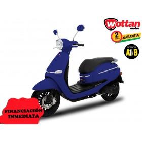 MOTO WOTTAN MOTOR BOT 125 CC AZUL OSCURO ORP