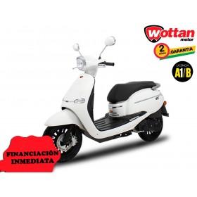 MOTO WOTTAN MOTOR BOT 125 CC BLANCO ORP