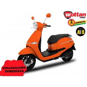 MOTO WOTTAN MOTOR BOT 125 CC NARANJA ORP
