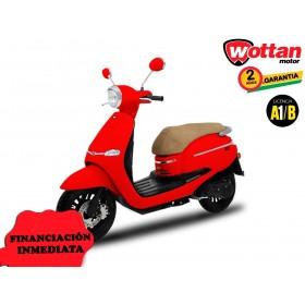 MOTO WOTTAN MOTOR BOT 125 CC ROJA ORP