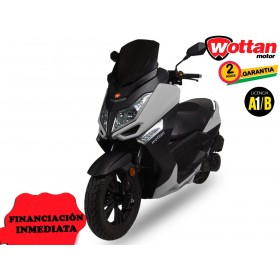 MOTO STORM WOTTAN MOTOR GRIS PLATA ORP