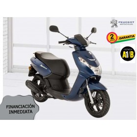 SCOOTER PEUGEOT KISBEE 2T ACTIVE 50cc AZUL ORP