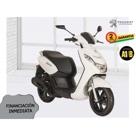 SCOOTER PEUGEOT KISBEE 2T ACTIVE 50cc BLANCA ORP