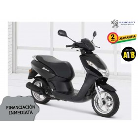 SCOOTER PEUGEOT KISBEE 2T ACTIVE 50cc NEGRO ORP