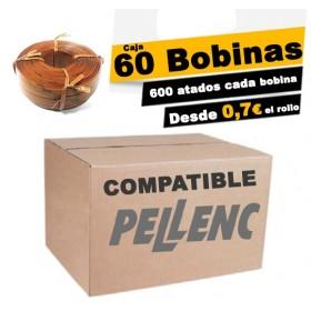 Caja de 60 bobinas pellenc COMPATIBLE 72m.