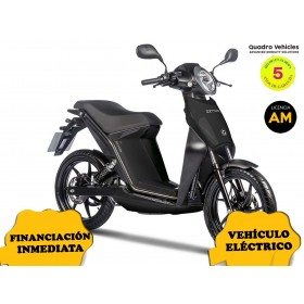 MOTO ELECTRICA OXYGEN DE QUADRO VEHICLES NEGRO ORP