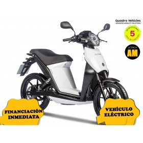 MOTO ELECTRICA OXYGEN DE QUADRO VEHICLES BLANCO ORP