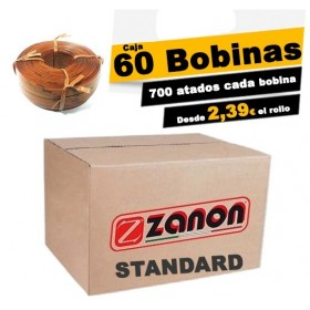 Caja de 60 Bobinas hilo Zanon 90m. STANDARD