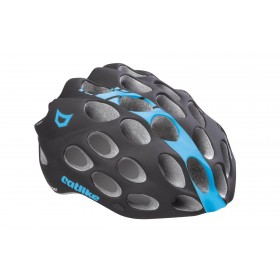 CASCO WHISPER NEGRO/AZUL