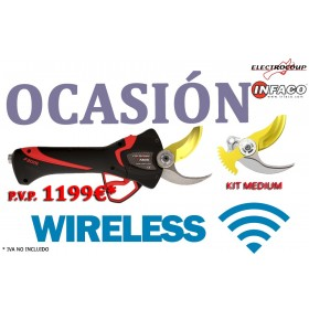 TIJERA F3015 WIRELESS KIT MEDIUM DE OCASIÓN ORP