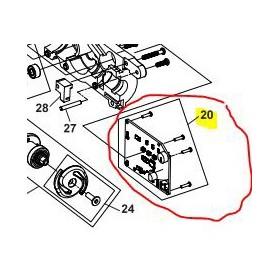 REPUESTOS ATADORA ZANON: 3250250 PLACA ZL25 Válidos para: ZL-25  Contenido: PLACA