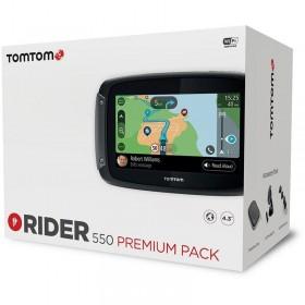 GPS TOMTOM RIDER 550 WORLD PREMIUM PACK CAJA