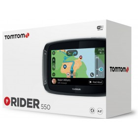 TOMTOM GPS RIDER 550 WORLD LTD