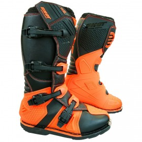 BOTA CROSS SHOT X10 2.0 NARANJA