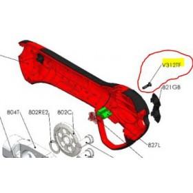 REPUESTOS TIJERA PODA ELÉCTRICA ELECTROCUP: 30020119004 CUBIERTA INTERIOR INFERIOR Válidos para: F315 Contenido: TORNILLO 3X12