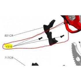 REPUESTOS TIJERA PODA ELÉCTRICA ELECTROCUP: V310 TORNILLO M3X10  Válidos para: F3015(KIT MAXI)