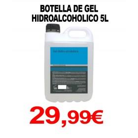 GARRAFA DE GEL HIDROALCOHOLICO 5L