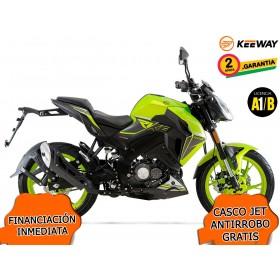 MOTO KEEWAY RKF 125 2020 VERDE LIMA ORP
