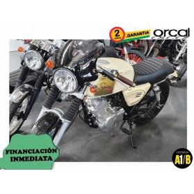 Moto Orcal Sprint 125 Beige Unidad de Exposición ORP