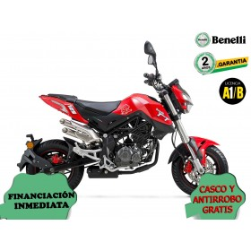 BENELLI TORNADO NAKED T 125 roja orp